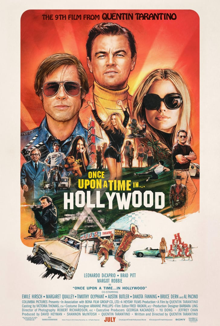 Once-Upon-Time-Hollywood-Movie-Posters